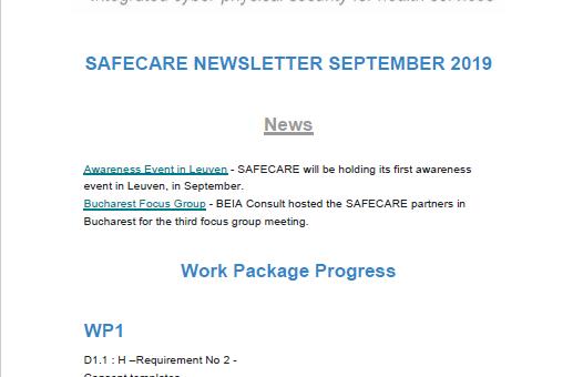 SAFECARE Newsletter 2