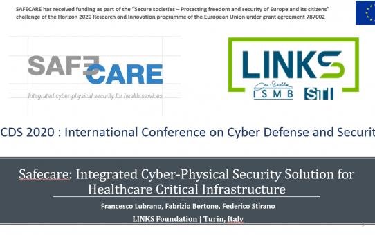 SAFECARE partner LINKS Foundation wins Best Presentation Award at ICCDS 2020