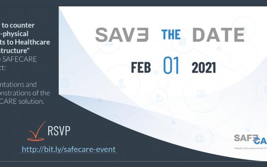 Agenda for SAFECARE Demonstration Event on 1 February